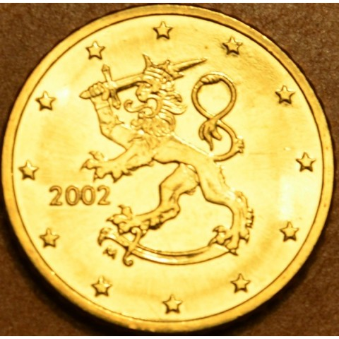 50 cent Fínsko 2002 (UNC)