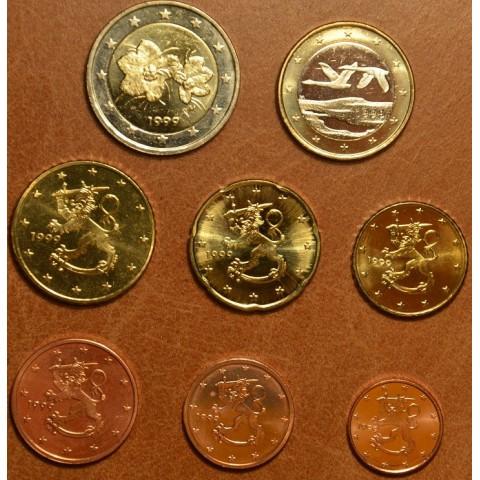 Sada 8 euromincí Fínsko 1999 (UNC)