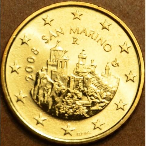 50 cent San Marino 2008 (UNC)