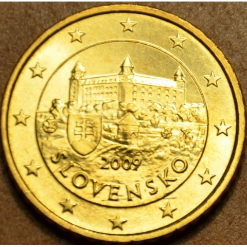 50 cent Slovensko 2009 (UNC)