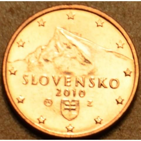 2 cent Slovensko 2010 (UNC)