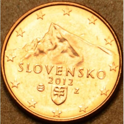 1 cent Slovensko 2012 (UNC)