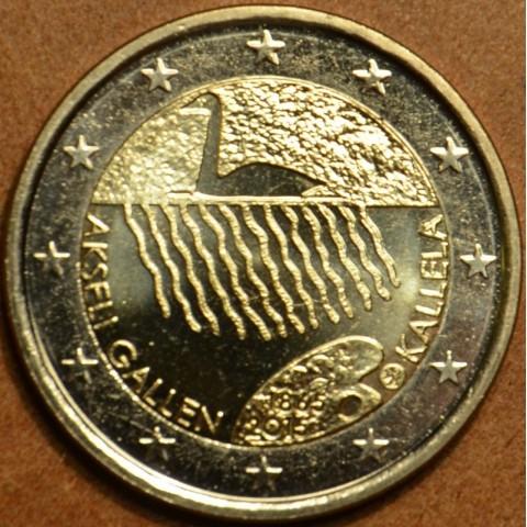 2 Euro Fínsko 2015 - Akseli Gallen Kallela (UNC)