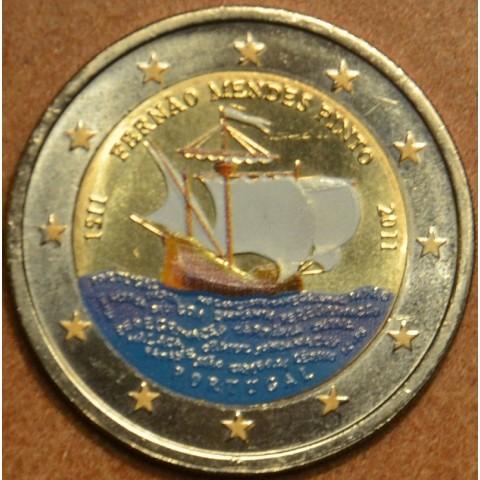 2 Euro Portugalsko 2011 - 500 rokov od narodenia Mendesa Pinta II. (farebná UNC)