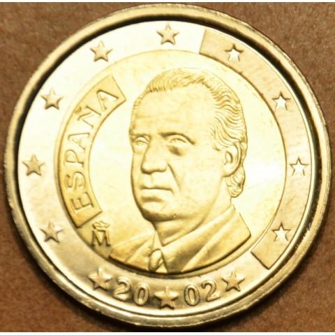 2 Euro Španielsko 2002 (UNC)