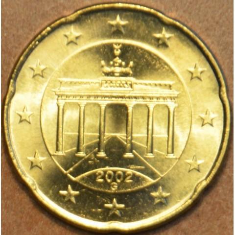 """20 cent Nemecko """"G"""" 2002 (UNC)"""