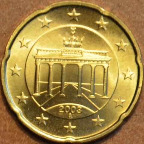 """20 cent Nemecko """"A"""" 2003 (UNC)"""