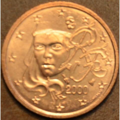 2 cent Francúzsko 2000 (UNC)