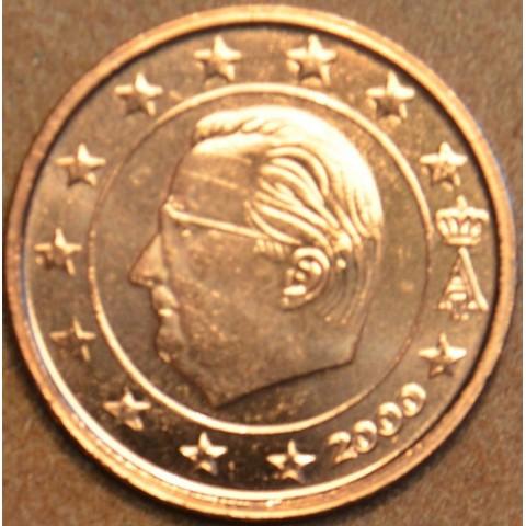 2 cent Belgicko 2000 (UNC)
