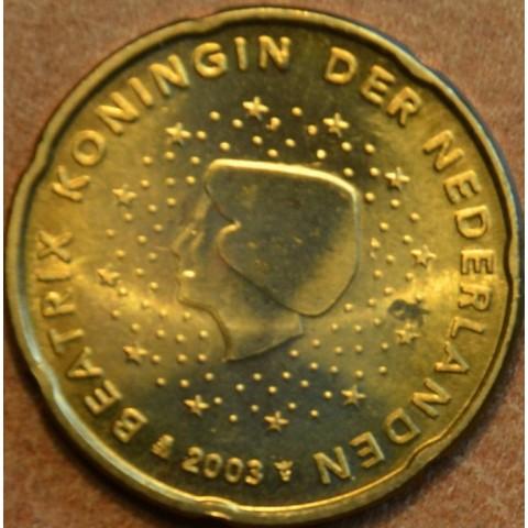 20 cent Holandsko 2003 (UNC)