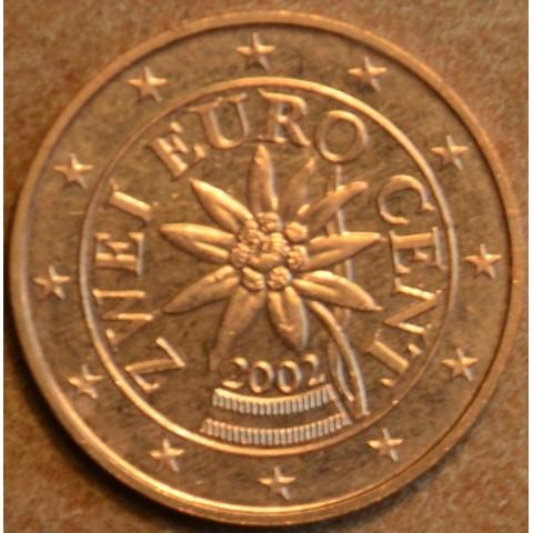 2 cent Rakúsko 2002 (UNC)