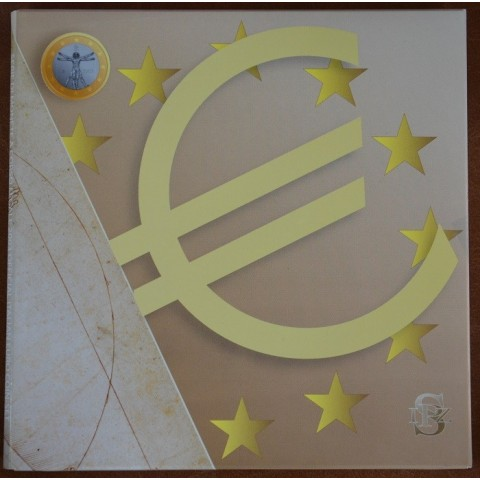 Krabica od oficiálnej BU sady Taliansko 2003