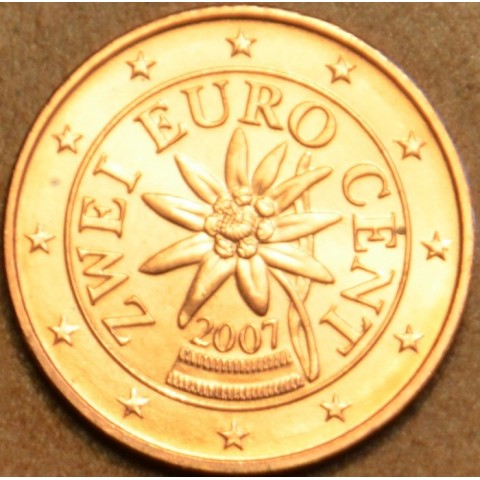 2 cent Rakúsko 2007 (UNC)