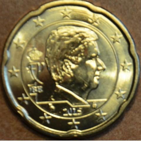20 cent Belgicko 2015 - Kráľ Filip (UNC)