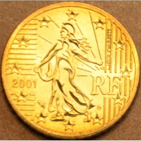 50 cent Francúzsko 2001 (UNC)