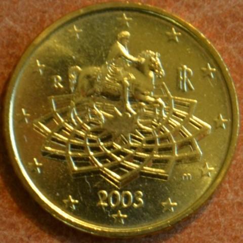 50 cent Taliansko 2003 (UNC)