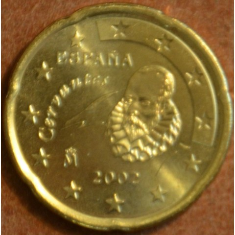 20 cent Španielsko 2002 (UNC)