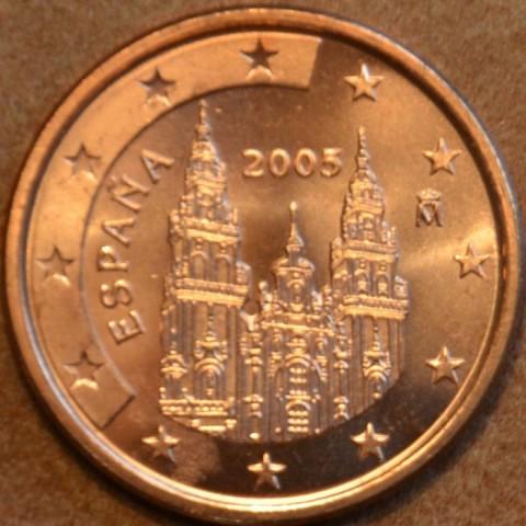 1 cent Španielsko 2005 (UNC)