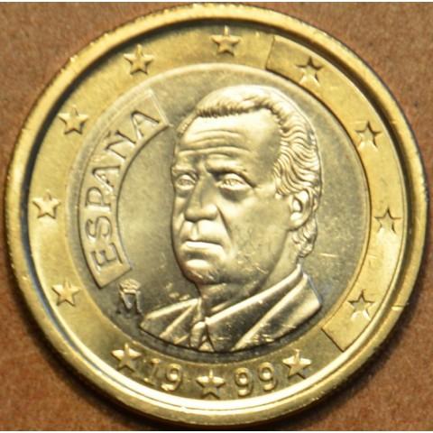 1 Euro Španielsko 1999 (UNC)