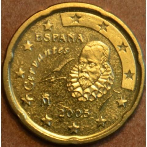 20 cent Španielsko 2005 (UNC)