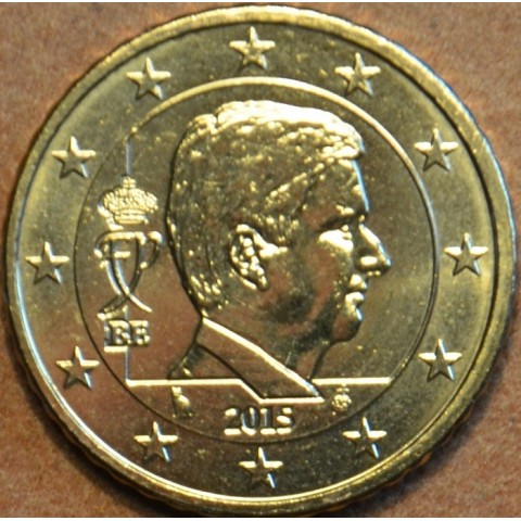 50 cent Belgicko 2015 - Kráľ Filip (UNC)