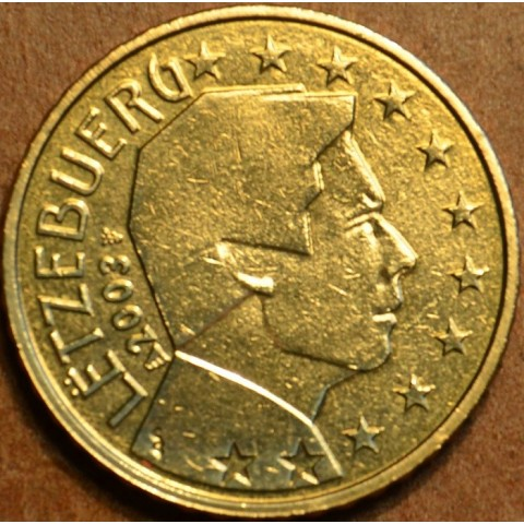 50 cent Luxembursko 2003 (UNC)