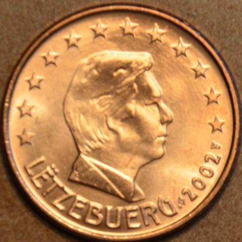 5 cent Luxembursko 2002 (UNC)