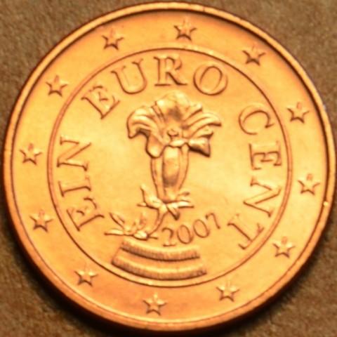 1 cent Rakúsko 2007 (UNC)