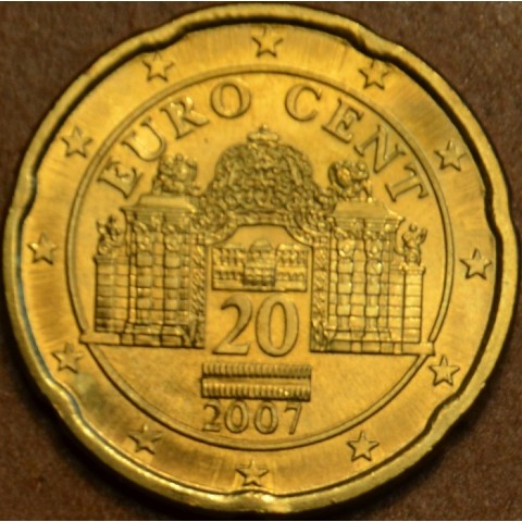 20 cent Rakúsko 2007 (UNC)