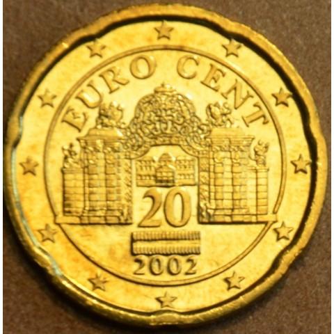 20 cent Rakúsko 2002 (UNC)