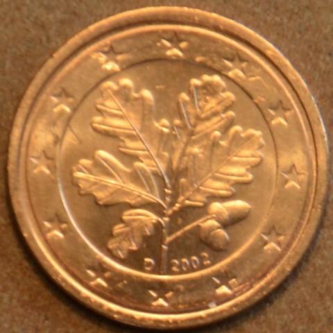 """2 cent Nemecko """"D"""" 2002 (UNC)"""