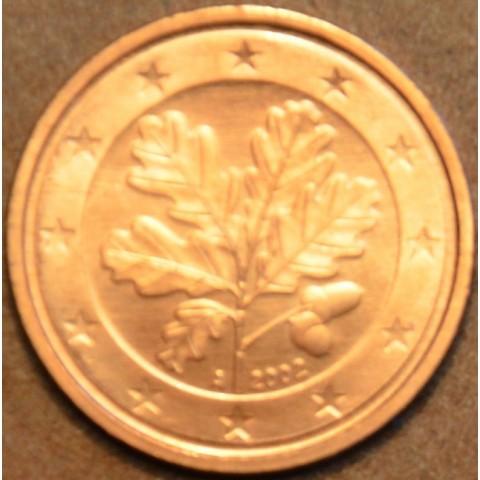 """2 cent Nemecko """"G"""" 2002 (UNC)"""
