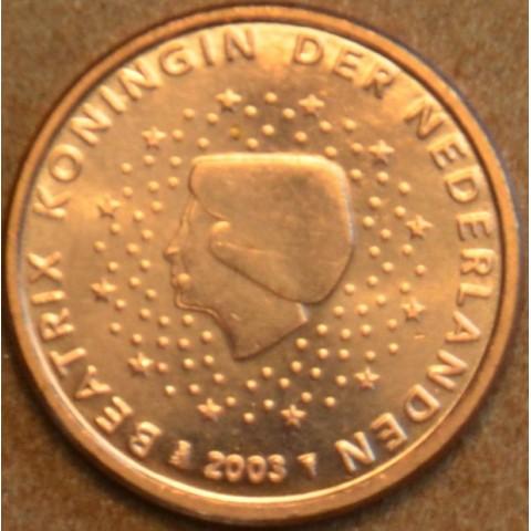 1 cent Holandsko 2003 (UNC)