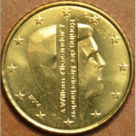 10 cent Holandsko 2014 - Kráľ Willem Alexander (UNC)