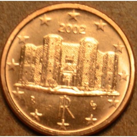 1 cent Taliansko 2002 (UNC)