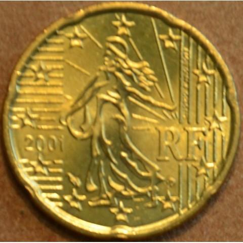 20 cent Francúzsko 2001 (UNC)