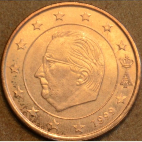 5 cent Belgicko 1999 (UNC)