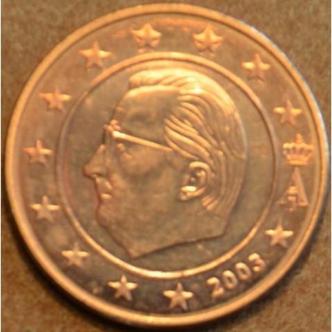 2 cent Belgicko 2003 (UNC)