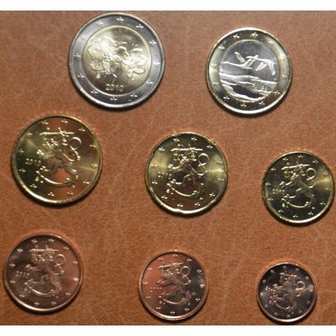 Sada 8 euromincí Fínsko 2010 (UNC)