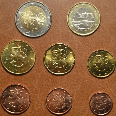 Sada 8 euromincí Fínsko 2012 (UNC)