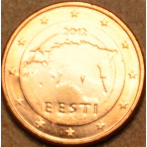 1 cent Estónsko 2012 (UNC)