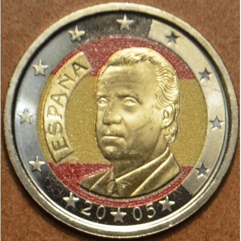 2 Euro Španielsko 2005 (farebná UNC)
