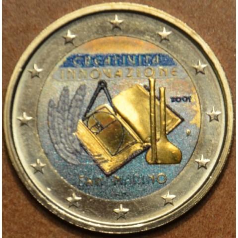 2 Euro San Marino 2009 - Európsky rok kreativity a inovácií (farebná UNC)