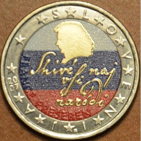 2 Euro Slovinsko 2007 (farebná UNC)