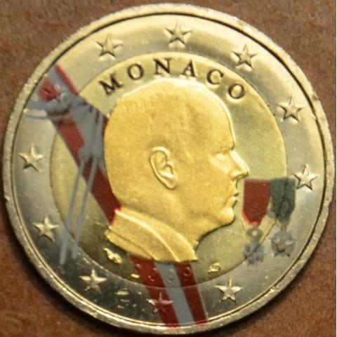 2 Euro Monaco 2009 (farebná UNC)