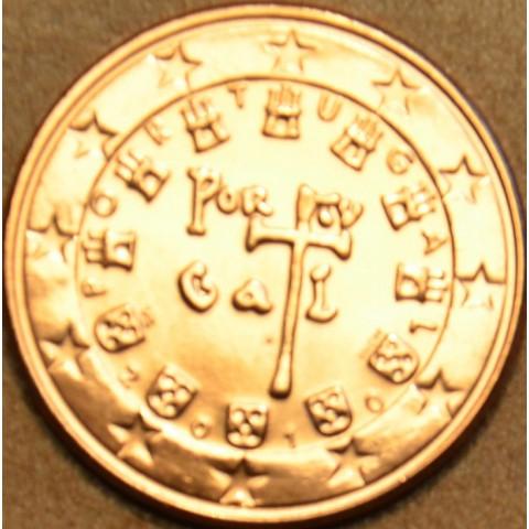 1 cent Portugalsko 2010 (UNC)