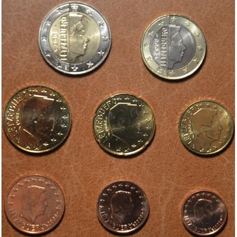 Sada 8 mincí Luxembursko 2008 (UNC)