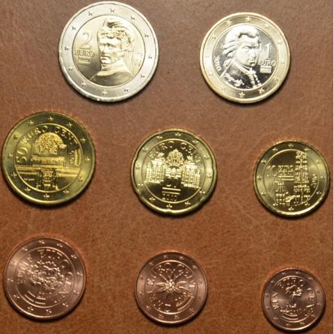 Sada 8 rakúskych mincí 2010 (UNC)