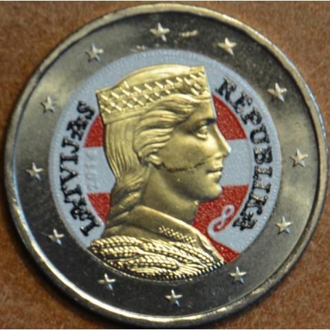 2 Euro Lotyšsko 2014 III.  (farebná UNC)