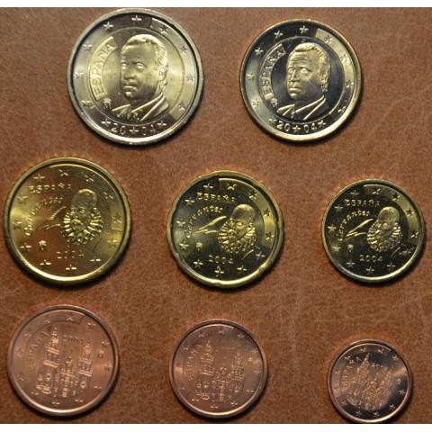 Sada 8 mincí Španielsko 2004 (UNC)